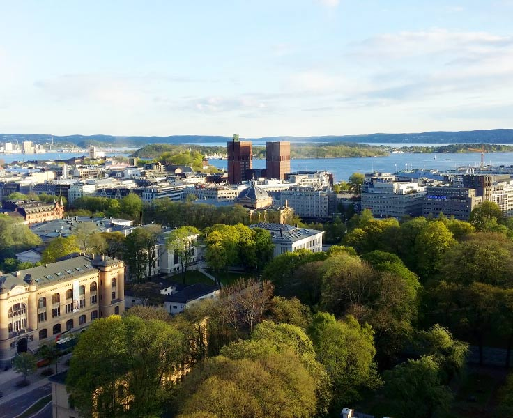 Karta Oslo