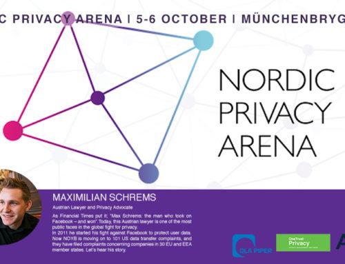 Aigine stolt sponsor av Nordic Privacy Arena 2020